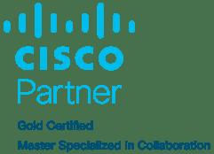 Cisco Gold Colab Blue Cropped