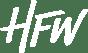HFW Logo White